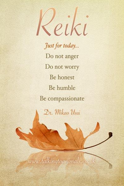 The Reiki Precepts
